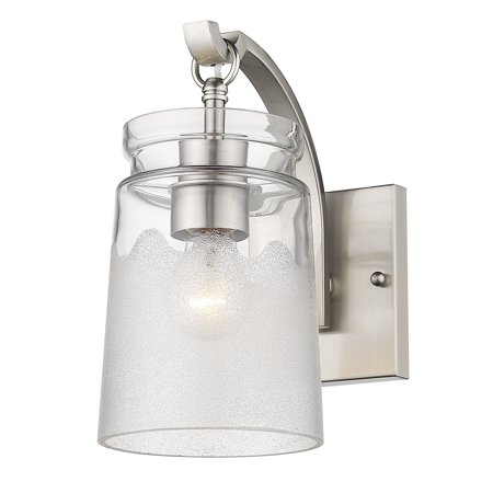 Pewter Wall Mounted Sconce (Travers PW 1-Light Wall Sconce in Pewter )