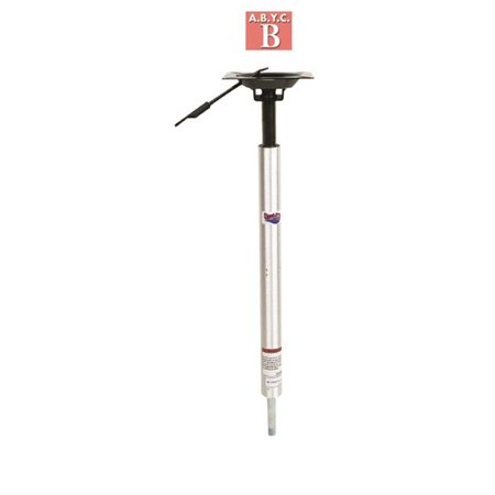 3204-T Lock N Pin 0.75 in. Adjustable Height Power Pedestal with Integral Seat Mounts, 24-30 in.