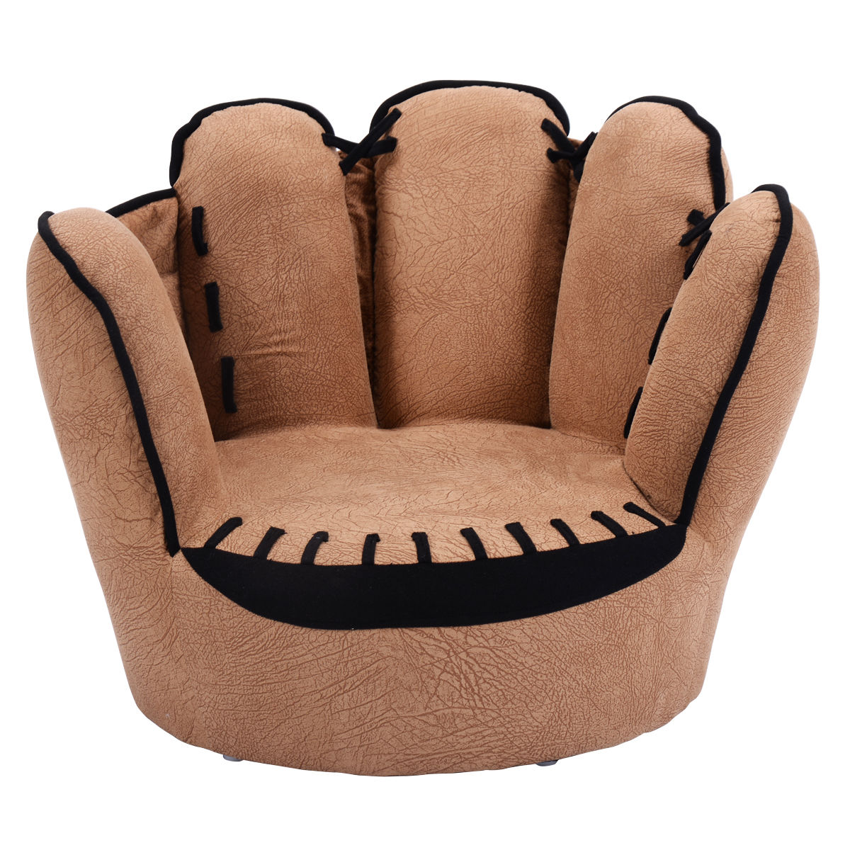 Costway Kids Sofa Five Finger Armrest Chair Couch Children Living Room Toddler Gift