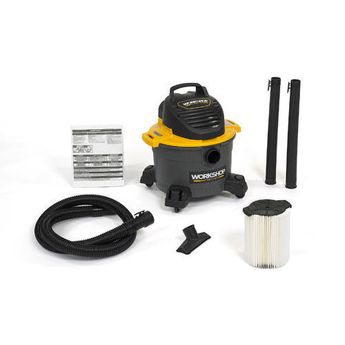 WORKSHOP Wet/Dry Vacs 6 Gallon 3.5 Peak HP General Purpose Wet/Dry Vacuum