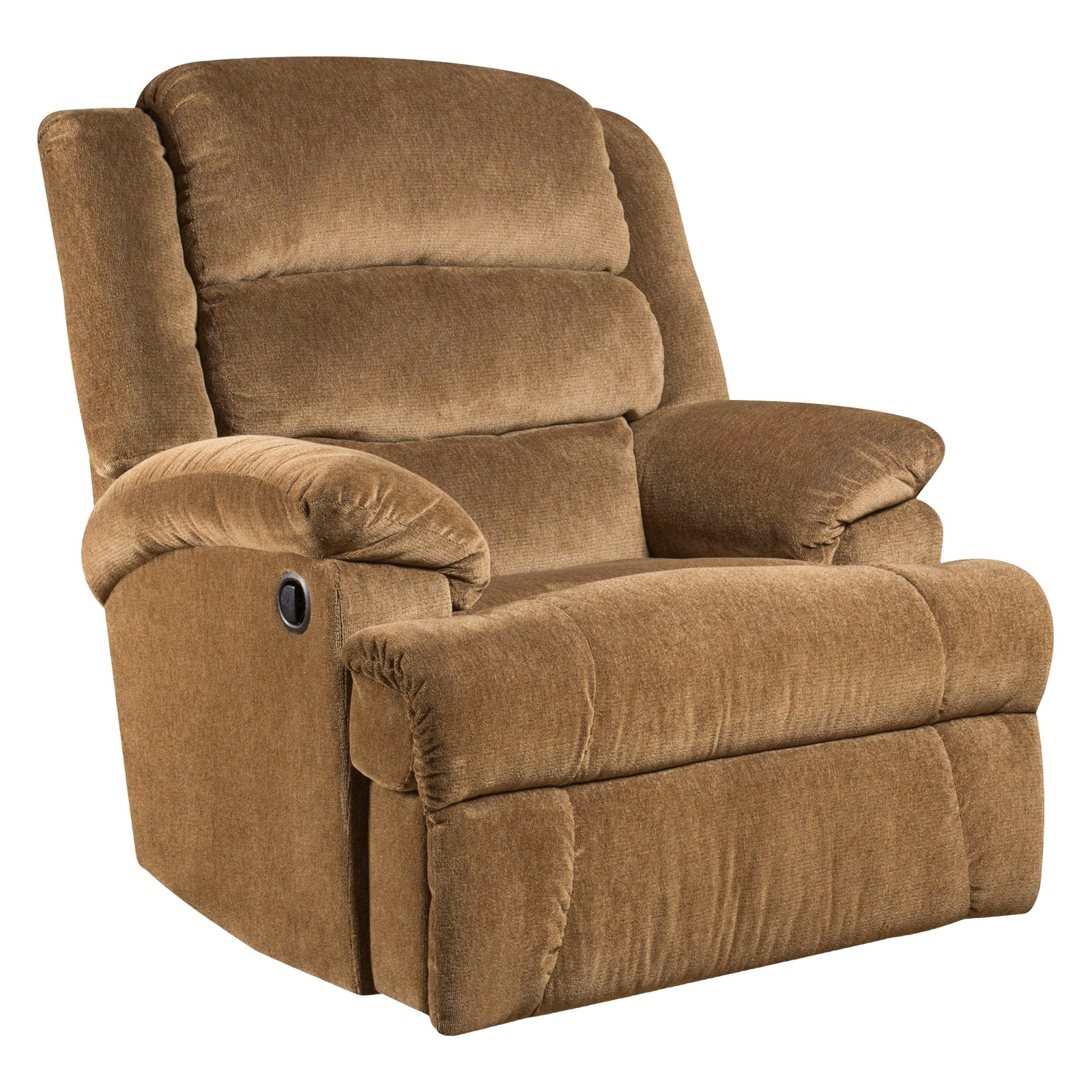 Flash Furniture Big and Tall 350 lb Capacity Aynsley Microfiber Recliner, Multiple Colors