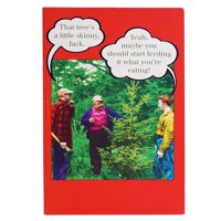 JAM Christmas Card Sets, Funny Skinny Tree, 10/Pack