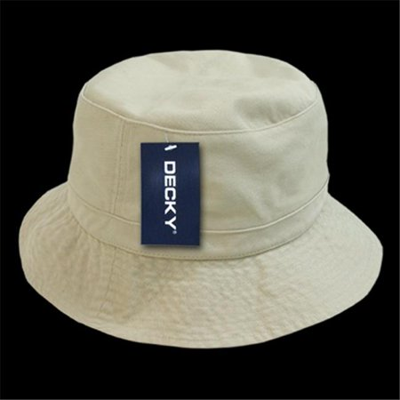 2bff497268d Decky 961-PL-STN-06 Polo Bucket Hat  44  Stone - Small   Medium ...