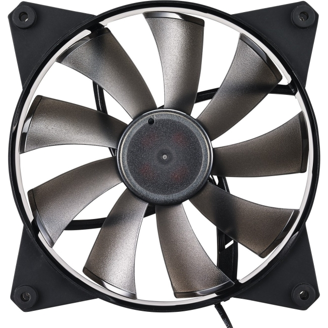 Cooler Master MasterFan Pro 140 Air Flow- 140mm High Air Flow Black Case Fan, Computer Cases CPU Coolers and Radiators ( MFY-F4NN-08NMK-R1)