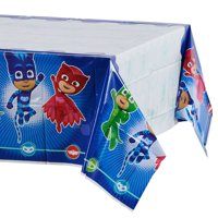 "American Greetings PJ Masks Party Supplies Plastic Table Cover, 54"" x 96"""