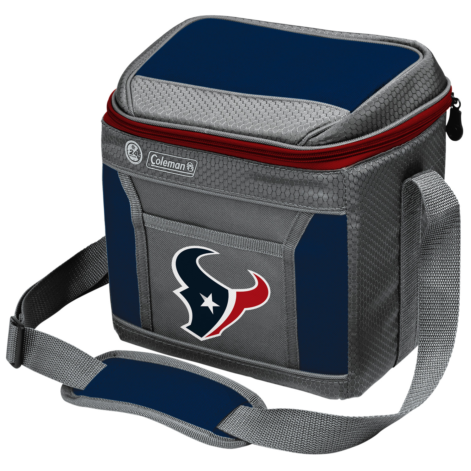 Houston Texans Coleman 9-Can 24-Hour Soft-Sided Cooler - No Size