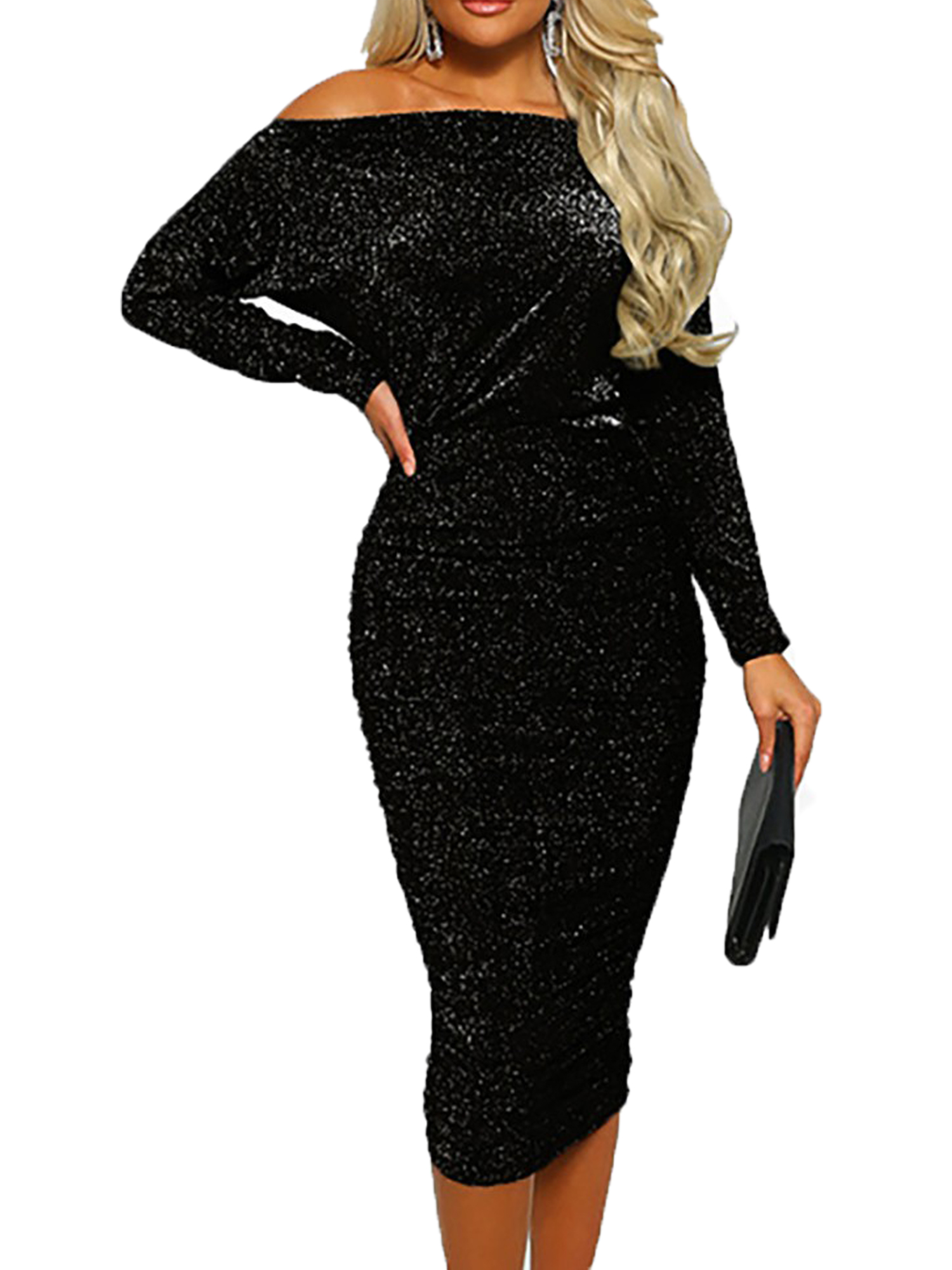 Details about  /Women Christmas Bodycon Dress Bodycon Ladies Evening Party Mini Dress Outfit