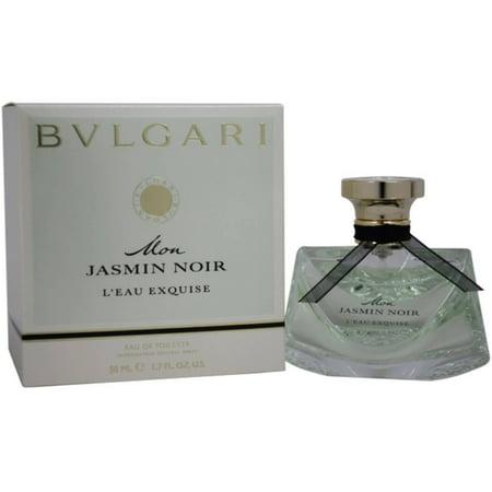 Bvlgari Mon Jasmin Noir Leau Exquise Eau De Toilette Natural Spray  1 7 Fl Oz