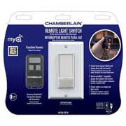 Chamberlain WSLCEV MyQ Light Switch Control Control Home Lighting with Included Remote or MyQ Technology (Sold Separately)