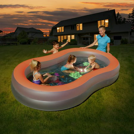 H2ogo  Doodle Glow Family Pool