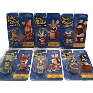 """""""Raving Rabbids Travel in Time"""" Limited Edition set of 6 Rabbids by"""