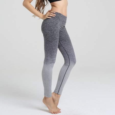 7ec4e36956cd7 SAYFUT - SAYFUT Women's Yoga Pilates Pants Tights Active Compression  Leggings Athletic Gym Running Workout Exercise Fitness Training Ankle  Casual Trousers ...