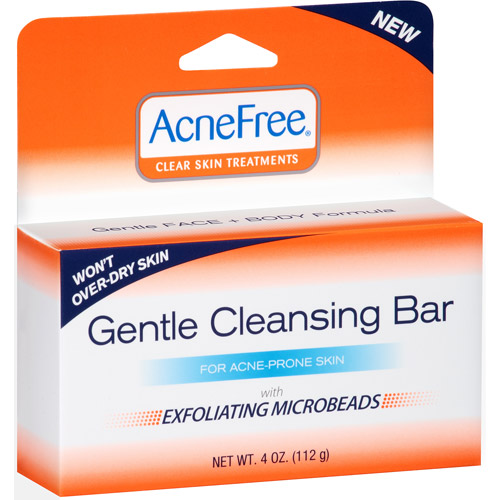 Valeant Pharmaceuticals AcneFree  Lotion, 1 oz Micellar Facial Cleansing & Makeup Remover Gel - 5 fl. oz. by Jean Pierre (pack of 12)
