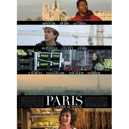 Paris POSTER Movie UK F Mini Promo - Halloween Frans