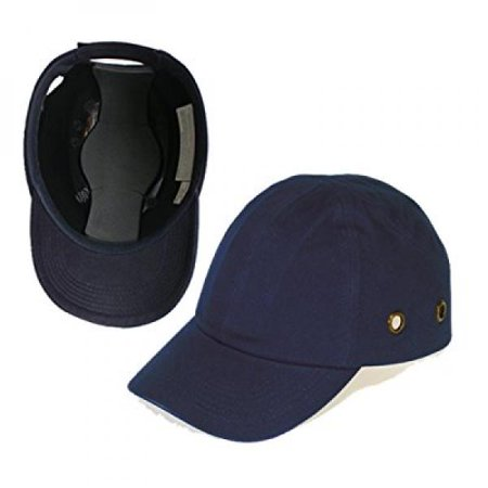 Blue Baseball Bump Cap - Lightweight Safety hard hat head protection Cap by Lucent Path](Construction Helmet)