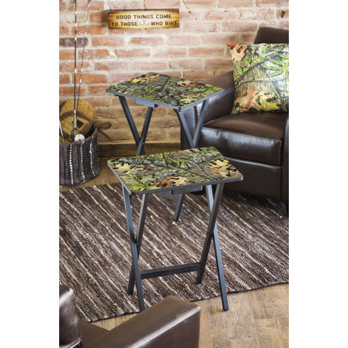 Cape Craftsmen Foldable TV Tray Table (Set of 2)