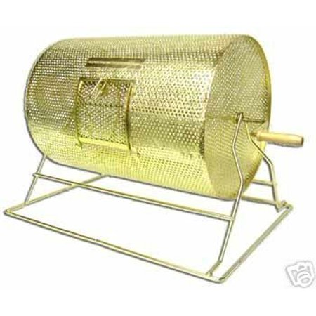 Midway Monsters Heavy Duty Brass Raffle Lottery Drum, Large, Holds 10000 (Large Raffle Drum)