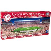 MasterPieces Collegiate Alabama Crimson Tide 1000 Piece Stadium Panoramic Jigsaw Puzzle