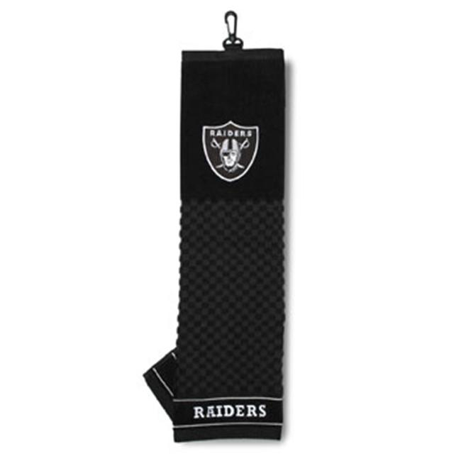 Team Golf 32110 Oakland Raiders Embroidered Towel