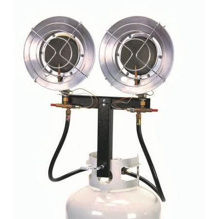 Az Patio Heaters LP-5000-BD Double Burner Tank Top Heater ()