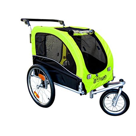 20 wheels cargo utility stroller and bicycle bike trailer. Black Bedroom Furniture Sets. Home Design Ideas