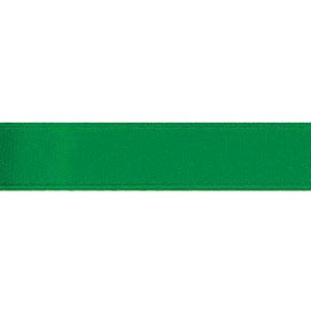 Darice Basic Expressions Ribbon Satin Green 0.375 Inch X 8 Yards