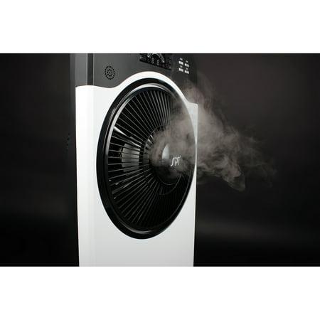 Sunpentown Indoor Misting and Circulation Fan, White - Walmart.com