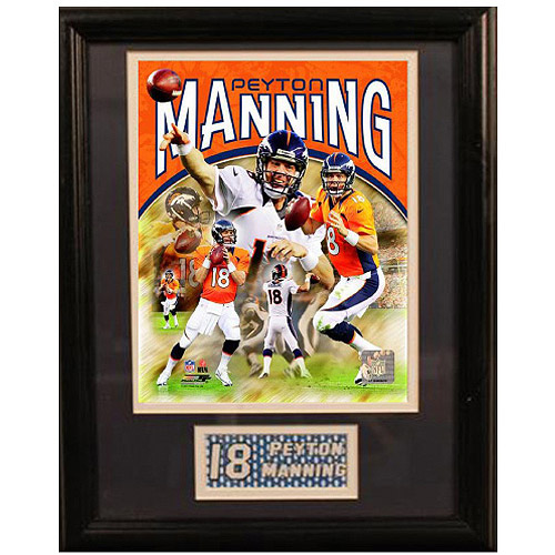 NFL Peyton Manning Deluxe Frame, 11x14