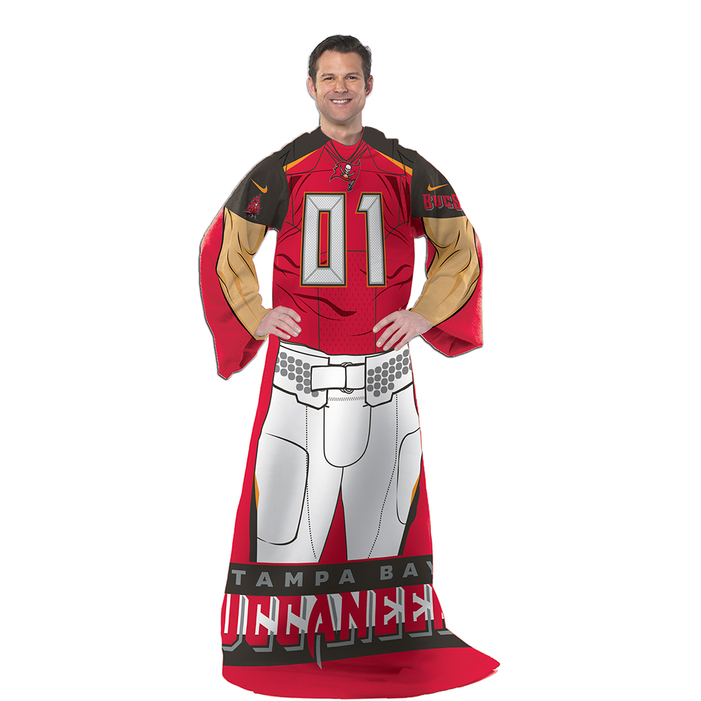 """NFL Tampa Bay Buccaneers Player 48"""" X 71"""" Full Body Comfy"""