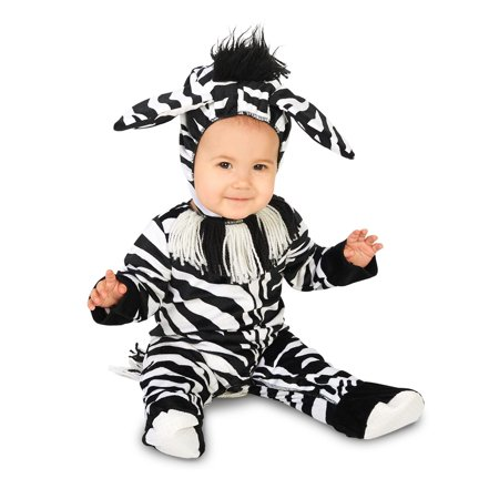 Zany Zebra Infant Costume - Zebra Costumes