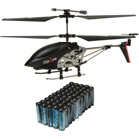 Cobra Rc Toys 908720 3 5 Channel Mini Gyro Special Edition Helicopter And Super Heavy Duty Battery Value Box