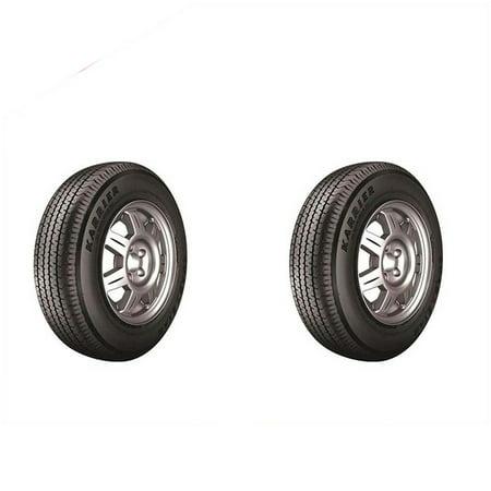 New Kenda Loadstar Trailer Tires St205 75r14 2pcs Walmart Com