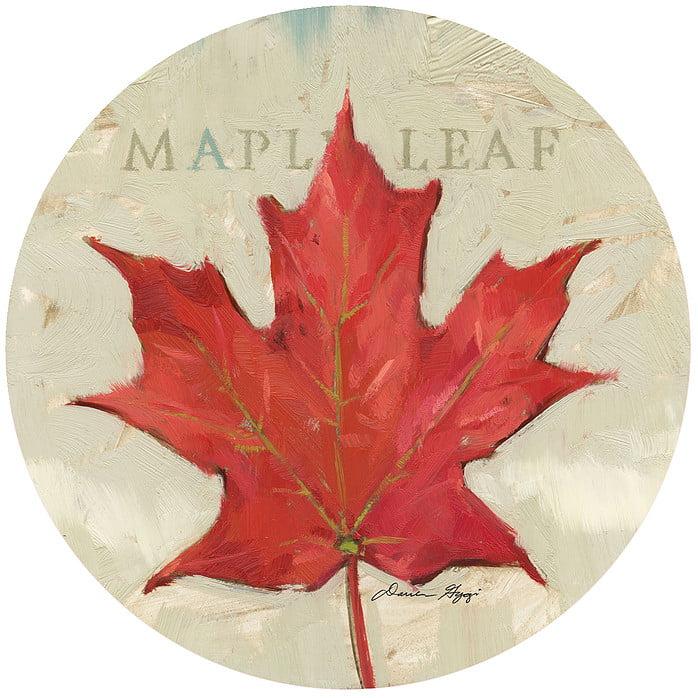 """Andrea's Silicone - 6"""" Non-Slip Jar Opener - Maple Leaf"""