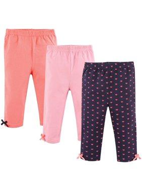 Girl Pants, 3-Pack