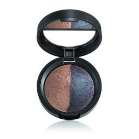 Laura Geller Baked Color Intense Eye Shadow Duo, Frosting/Blueberry
