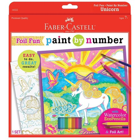 Unicorn Foil Fun Paint By Number - Craft Kit by Creativity For Kids (14322)