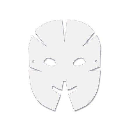 DIMENSIONAL PAPER MASKS 40PK - Mask Printables
