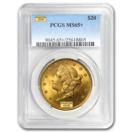 $20 Liberty Gold Double Eagle MS-65+ PCGS (Random) 1933 Double Eagle Gold Coin