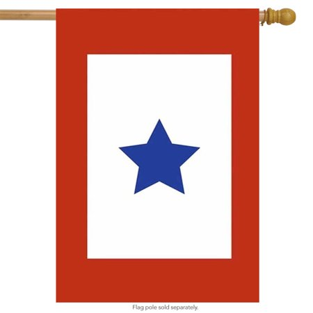 Military Star Applique House Flag Service Flag Military Service Banner 28