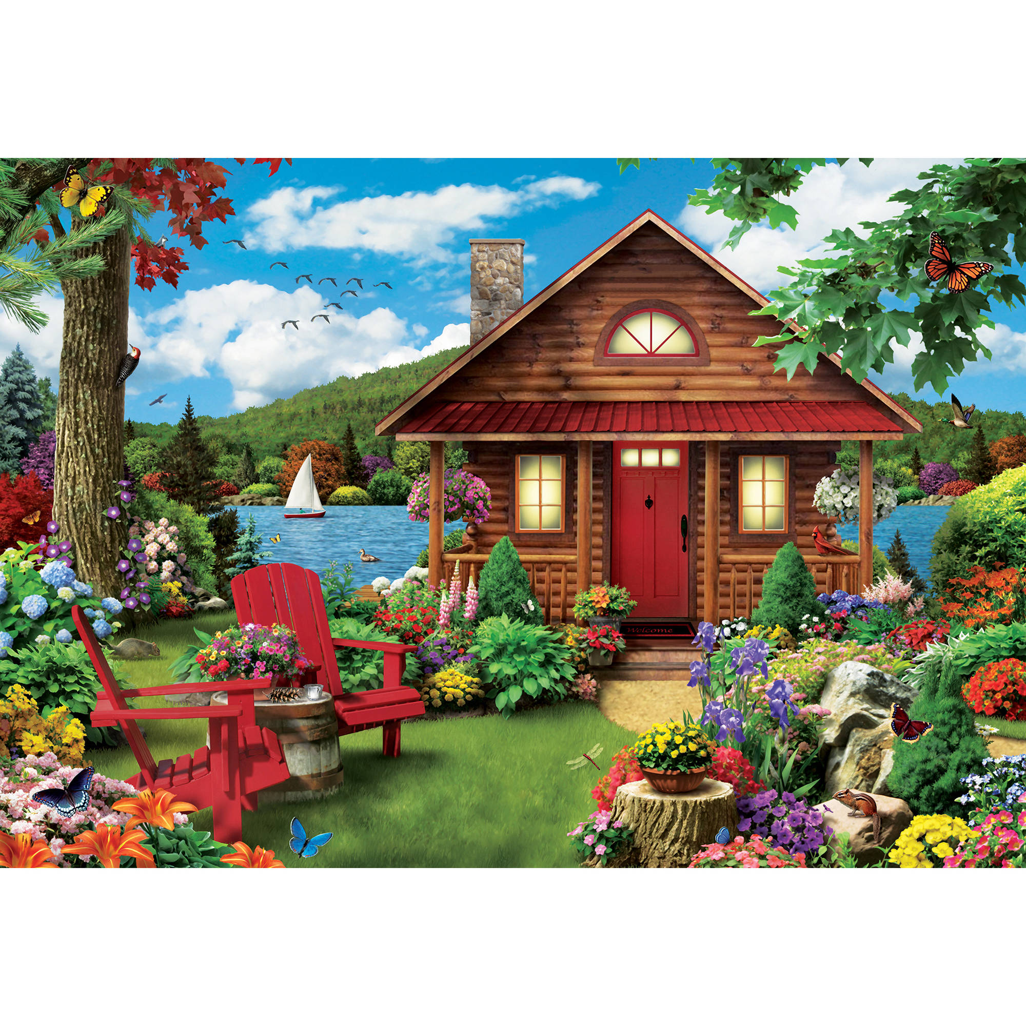 MasterPieces A Perfect Summer 1000 Piece Puzzle