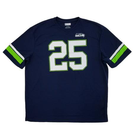 5686a493fa3 NFL - NFL Football Seattle Seahawks Mens Navy Richard Sherman #25 Jersey  Shirt 2XL - Walmart.com