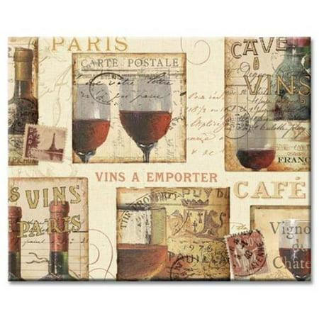 Counterart French Cellar Glass Cutting Board  14 7 8 By 11 3 4 Inch