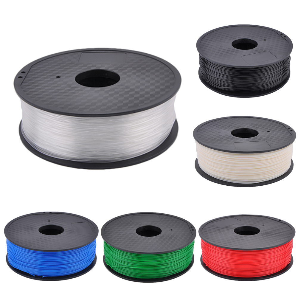 Professional 1.75MM 3D Printing Printer Filaments ABS 1KG Consumables Material Printing Accessories 6 Colors Optional,,black