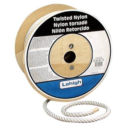 Lehigh Secure Line TN345 Twisted Nylon Rope, 3/4-Inch by 150