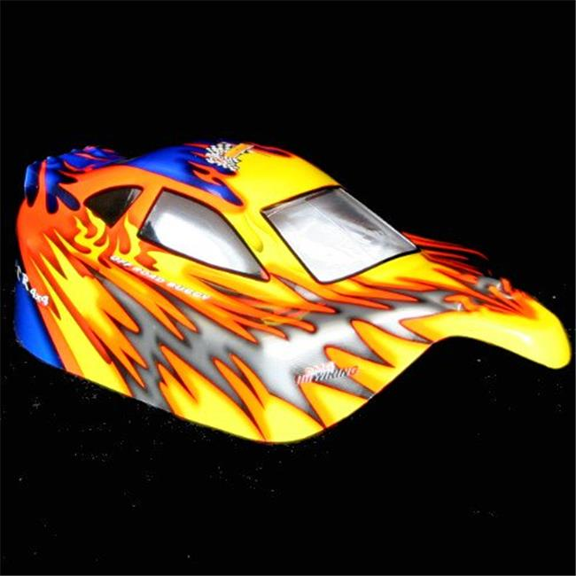 Redcat Racing 10706 . 10 Buggy Body Orange and Blue