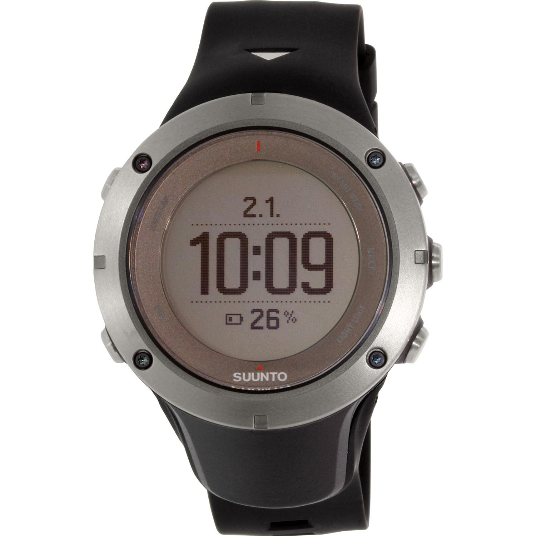 Suunto Men's Ambit 3 Sapphire HR SS020673000 Black Rubber Quartz Watch
