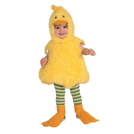 Yellow Quackie Duck Romper Infant/Toddler Costume](Man With The Yellow Hat Costume Toddler)