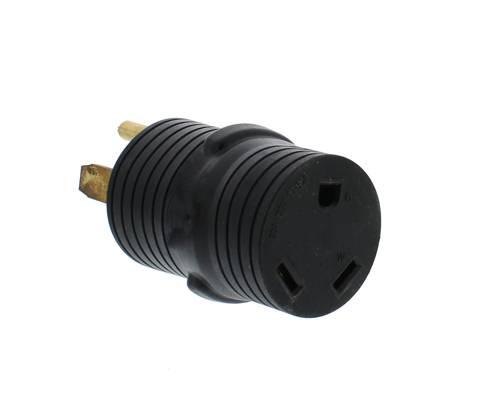 Dumble Plug Adapter 50A Male to 30A Female 4 Prong RV Generator Power Converter
