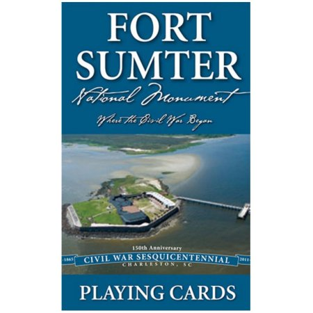 Palmetto Fort Sumter 150th Playing Cards
