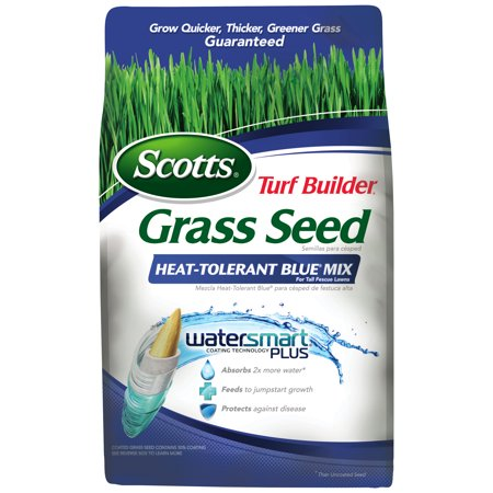 Scotts Turf Builder Grass Seed Heat-Tolerant Blue Mix 7 lbs